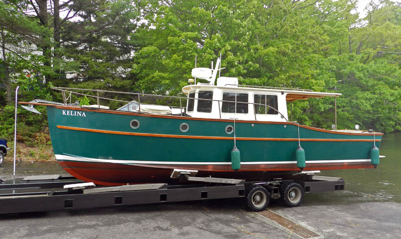 June 2012 our new kelina for Picnic boat plans
