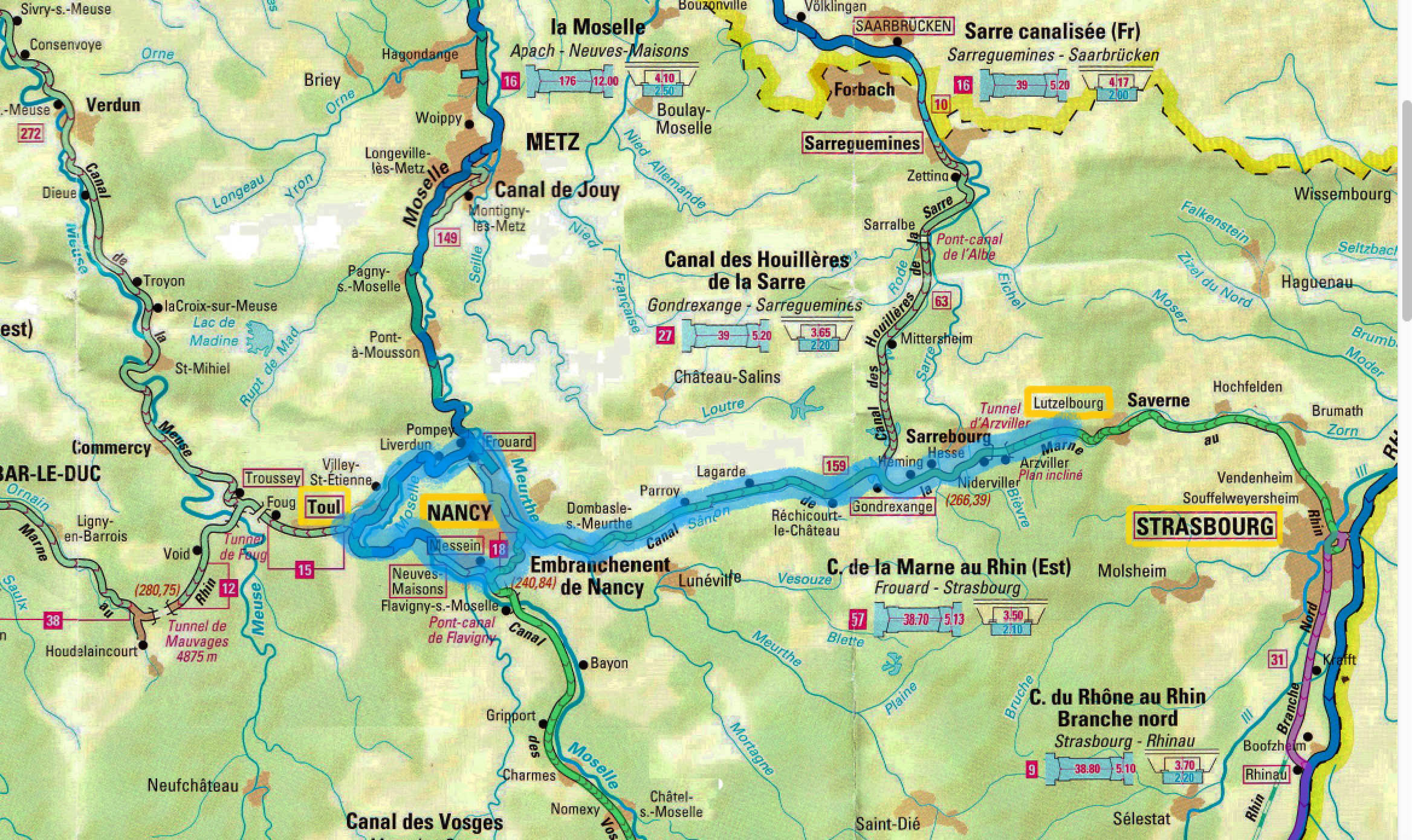 September 2017 French Canal Boat Trip Page 1